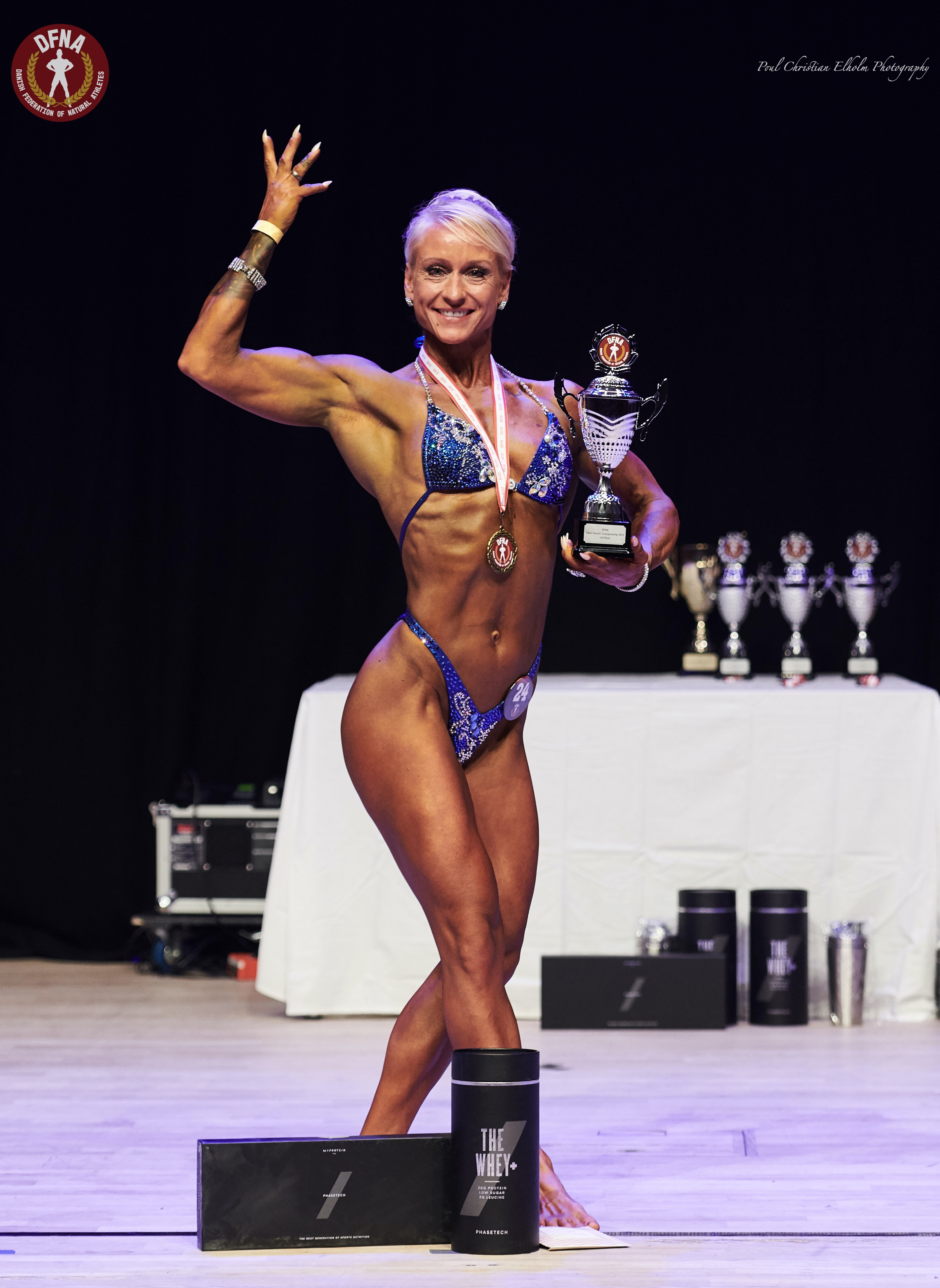 Winner Bodybuilding, Women