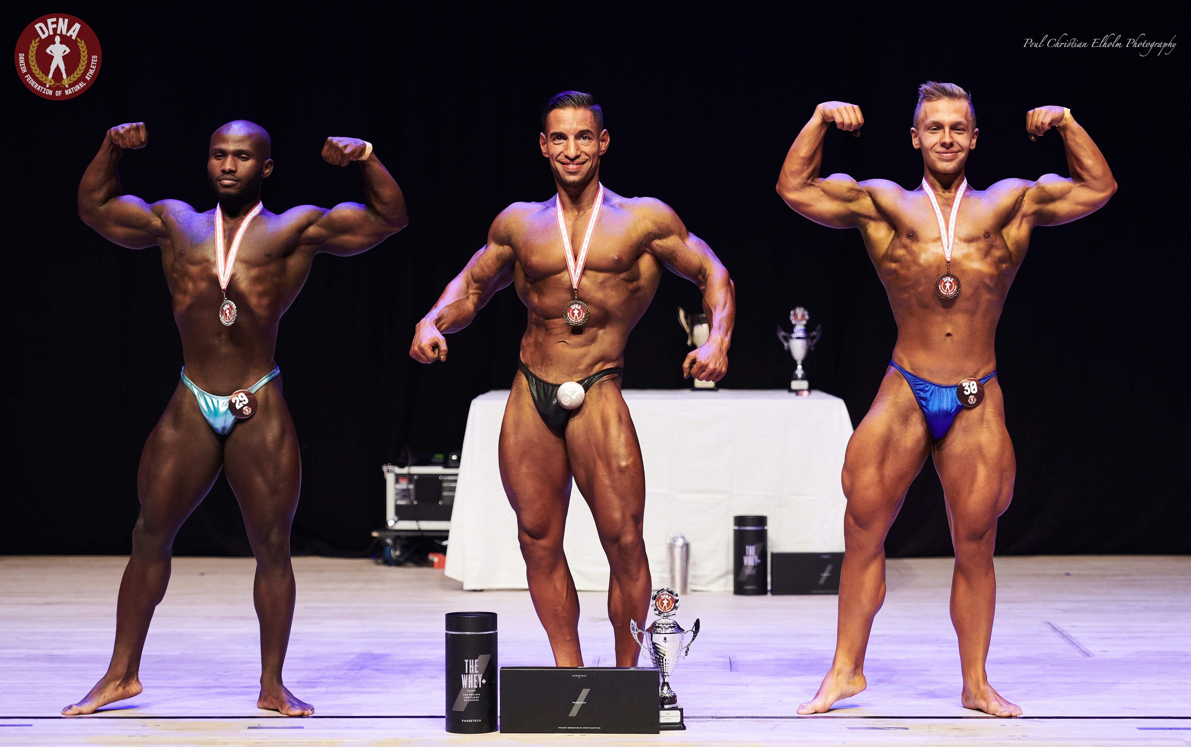Top 3, Bodybuilding, Light Weight