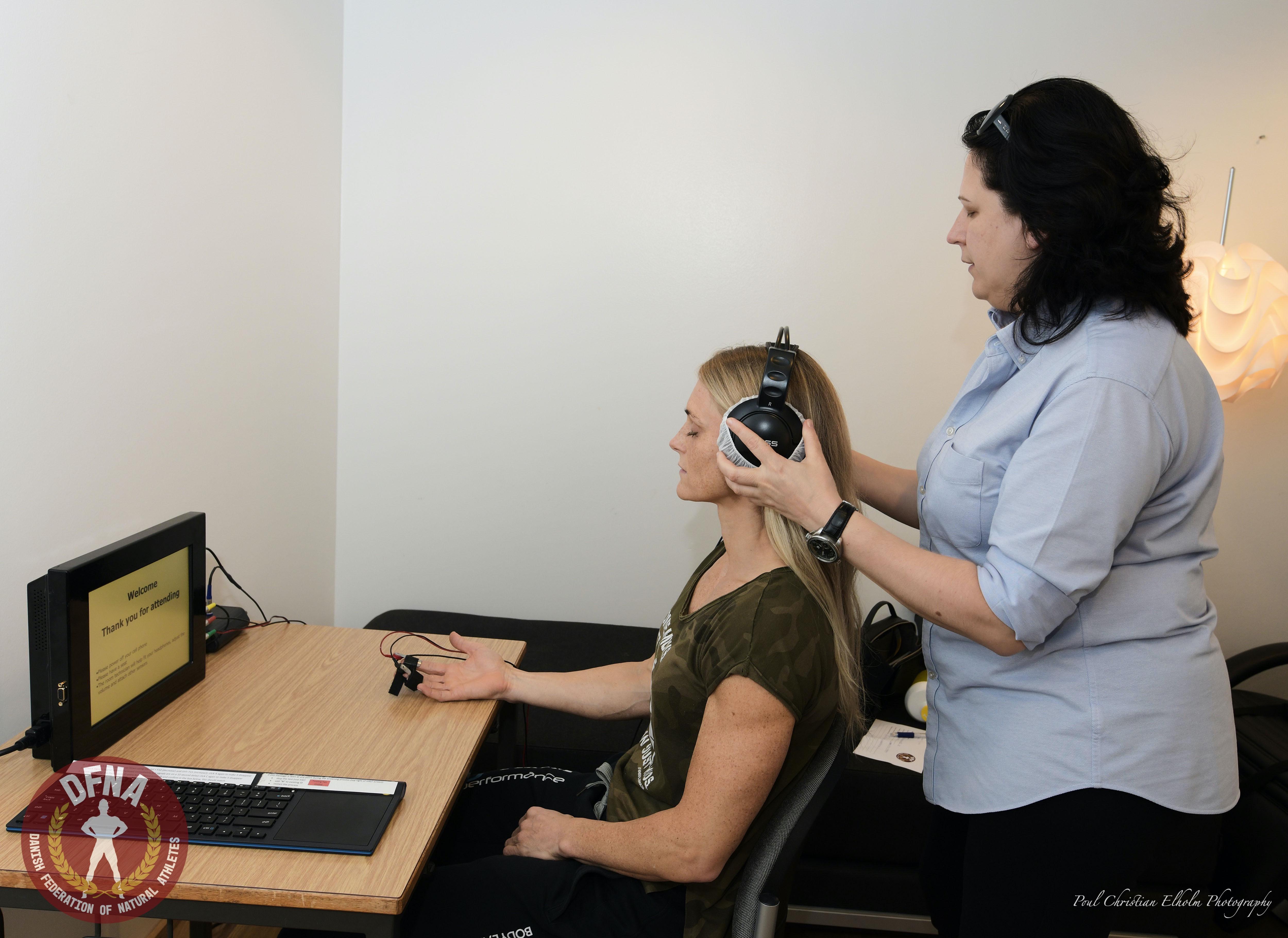 Polygraph test