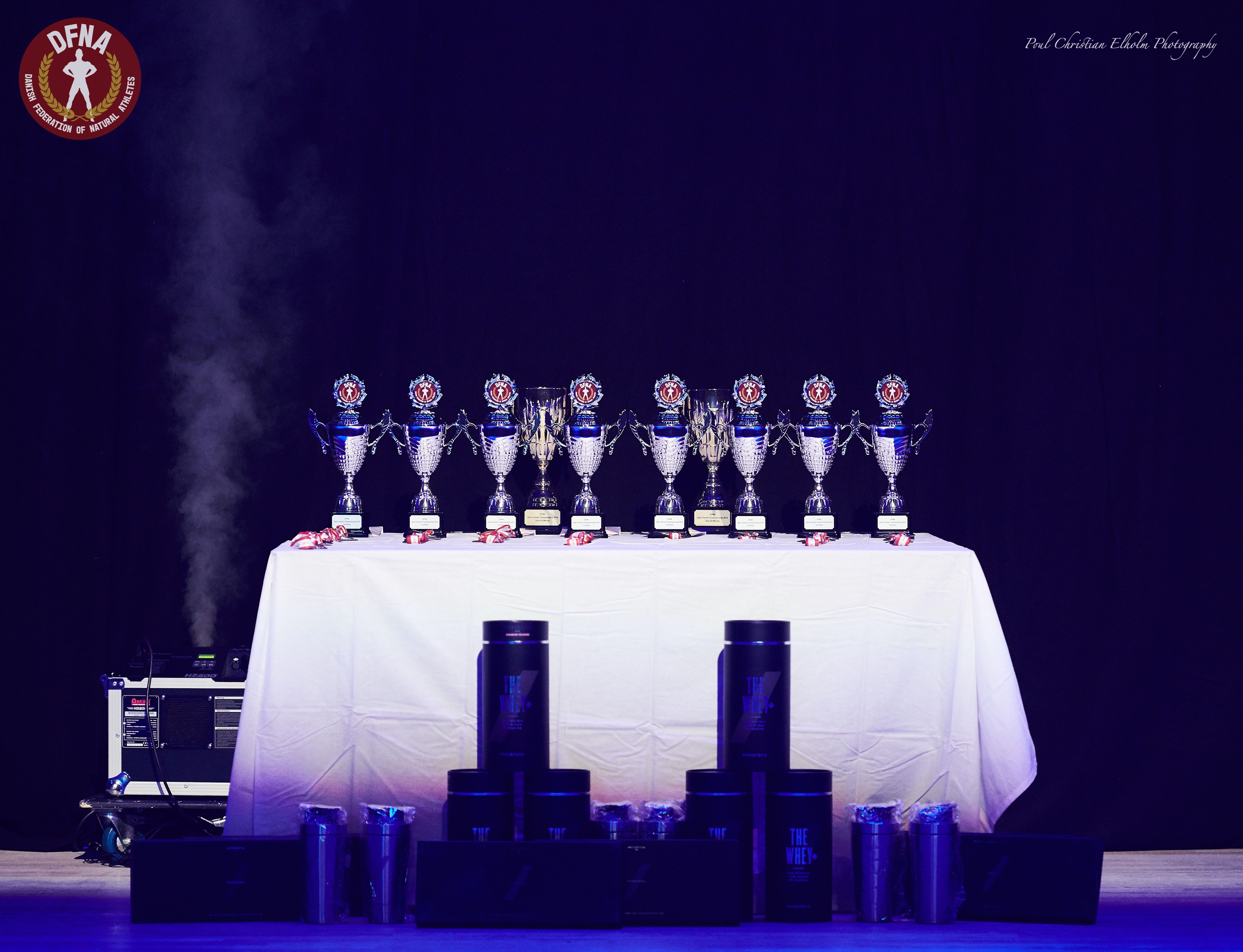Medal & Trophy table